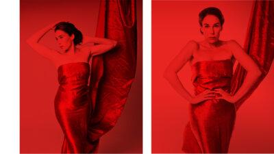 actress Halina Reijn portrays opera singer Esther Vinkel in the series RED LIGHT